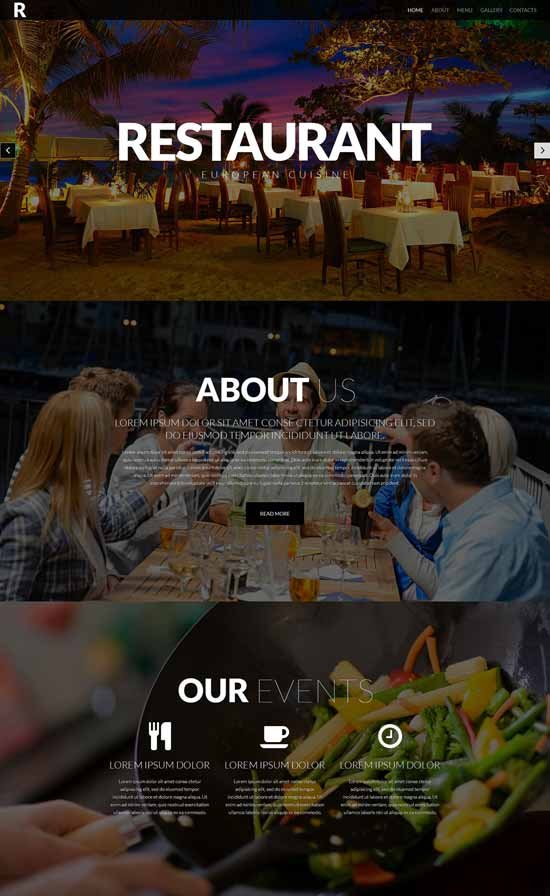 European-Restaurant-Responsive-Website-Template-52421