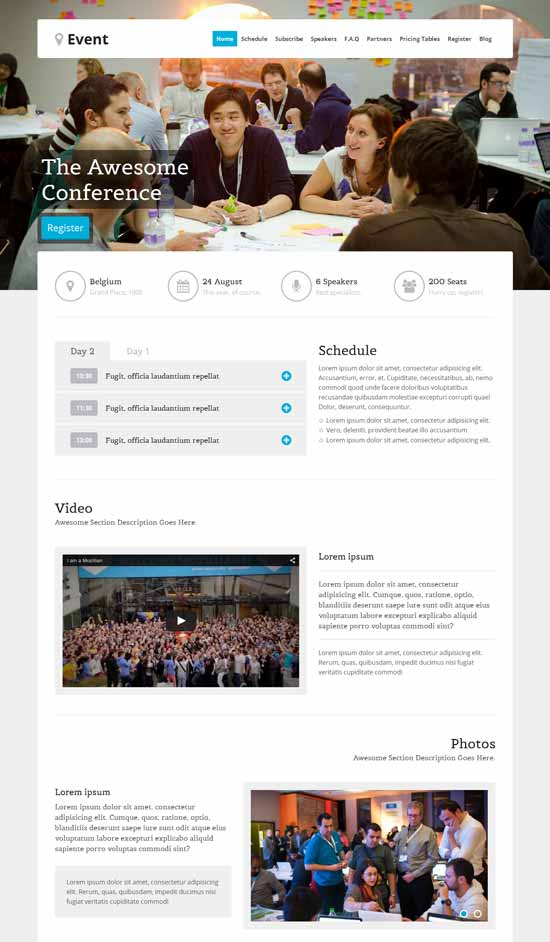 Event-WordPress-Landing-Page-Theme
