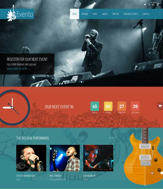 80+ Best Music Website Templates 2021 - Page 2 of 3