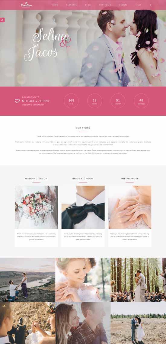 Everline-Wedding-Events-HTML-Template
