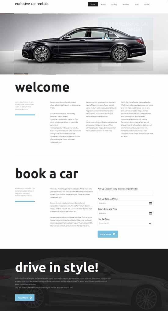 Exclusive-Car-Rental-Responsive-Website-Template