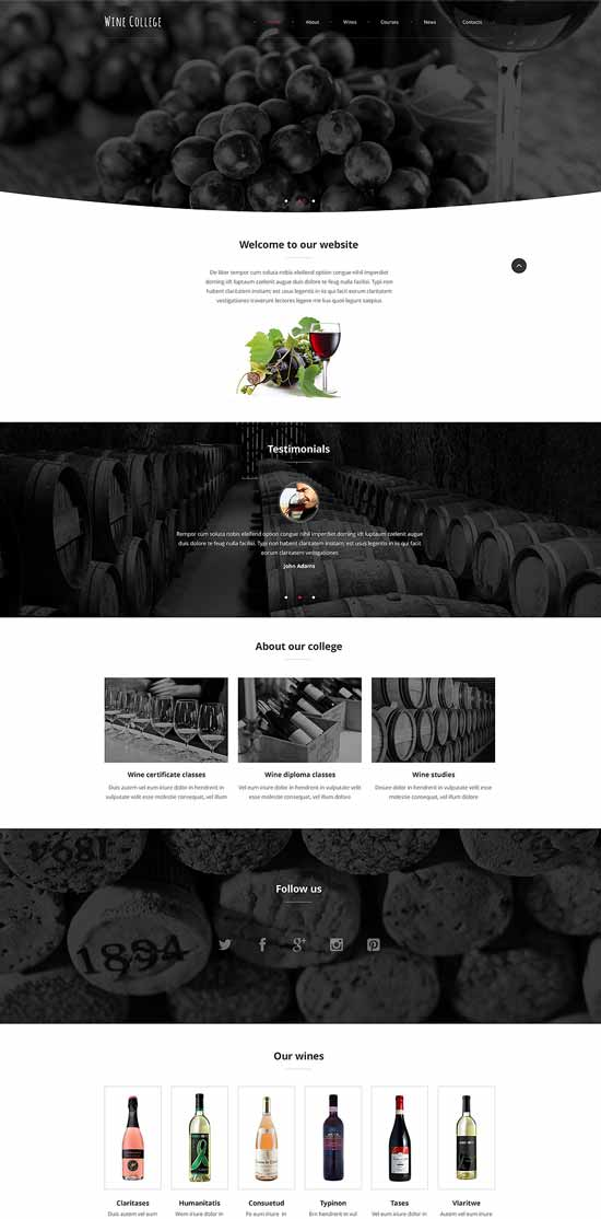 Exquisite-Wine-Website-Template