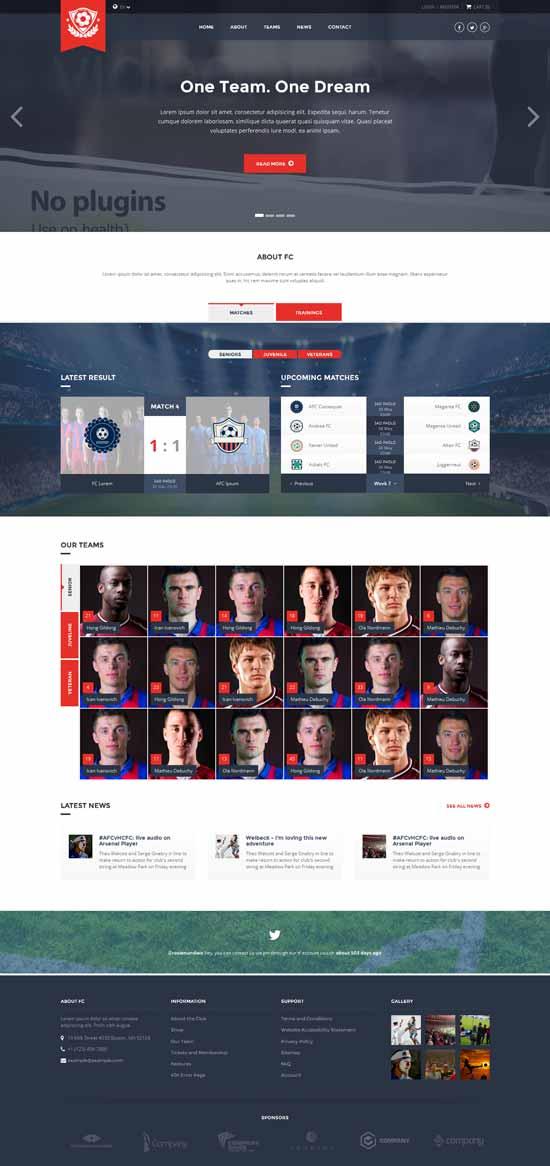 FC-Football-Club-Template