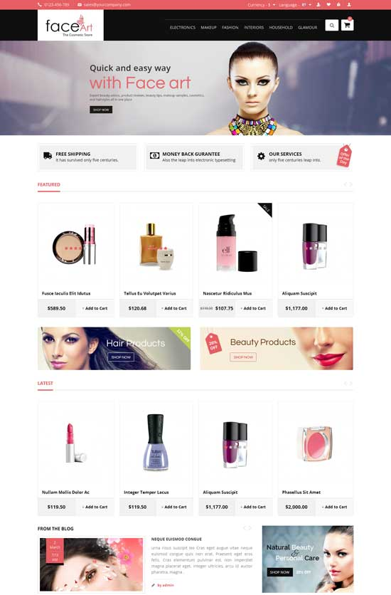 Face-Art-Beauty-Store-Responsive-Opencart-Theme