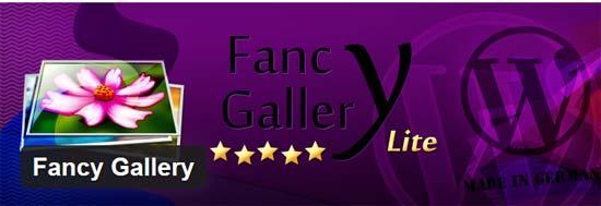 Fancy Gallery Plugin for WordPress