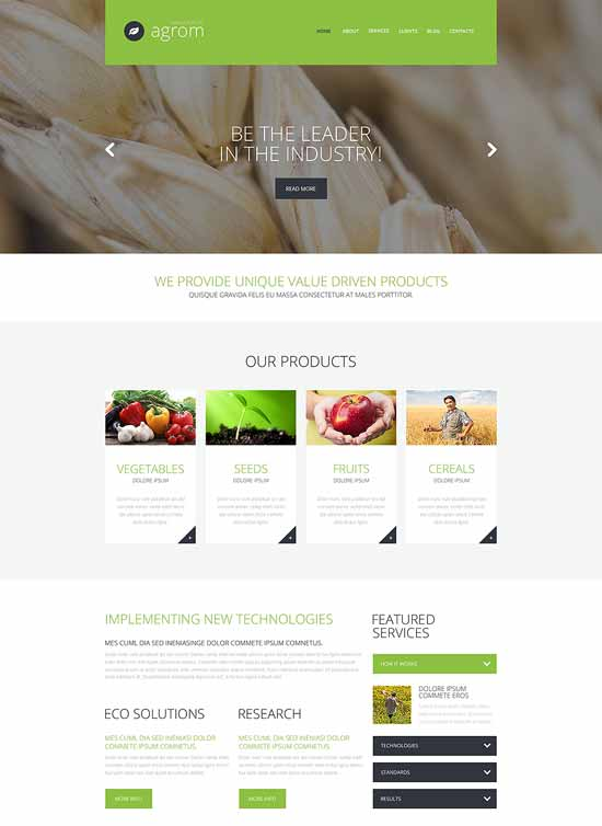 Farmer-Vegetable-WordPress-Theme