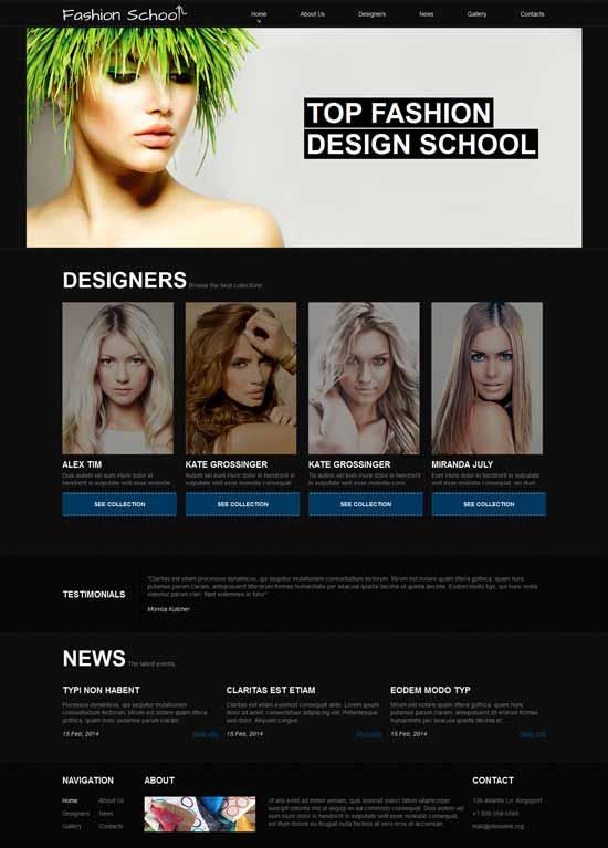 Fashion-Design-School-Joomla-Template