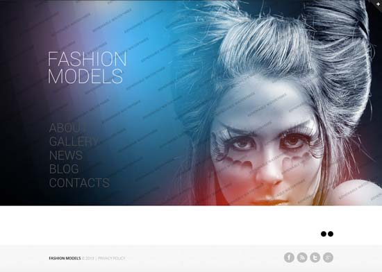 Fashion-Model-Agency-Website-Template