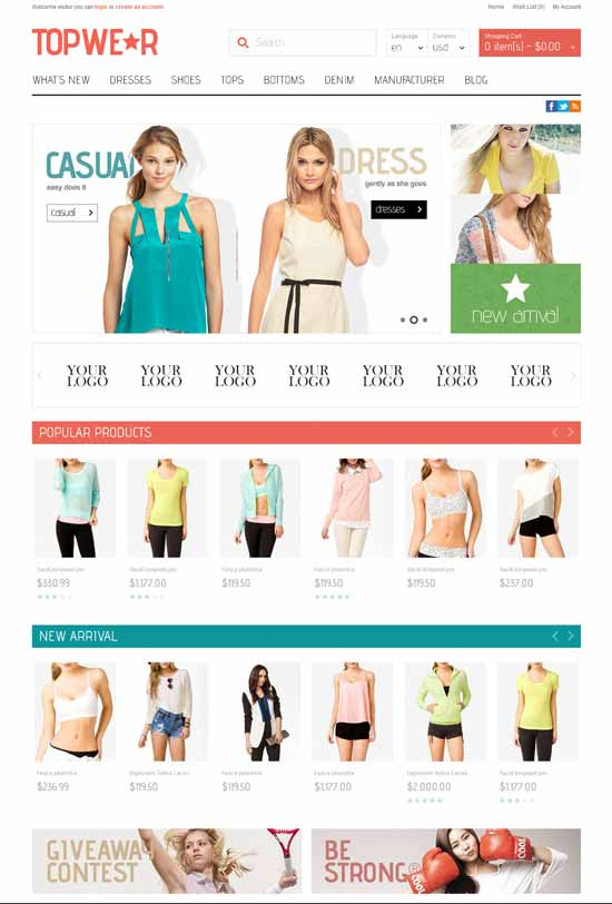 Fashion-Responsive-OpenCart-Theme