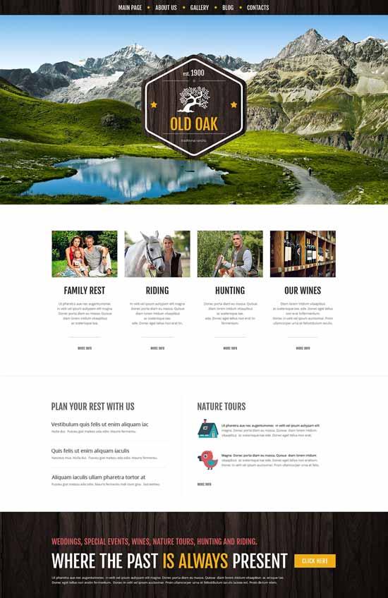 Favorable-Ranch-Location-WordPress-Theme