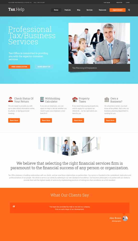 Finance-Accounting-WordPress-Theme