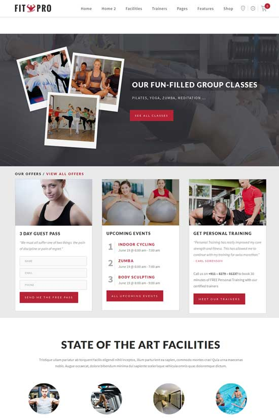 FitPro-Events-Fitness-Gym-Sports-WordPress-Theme