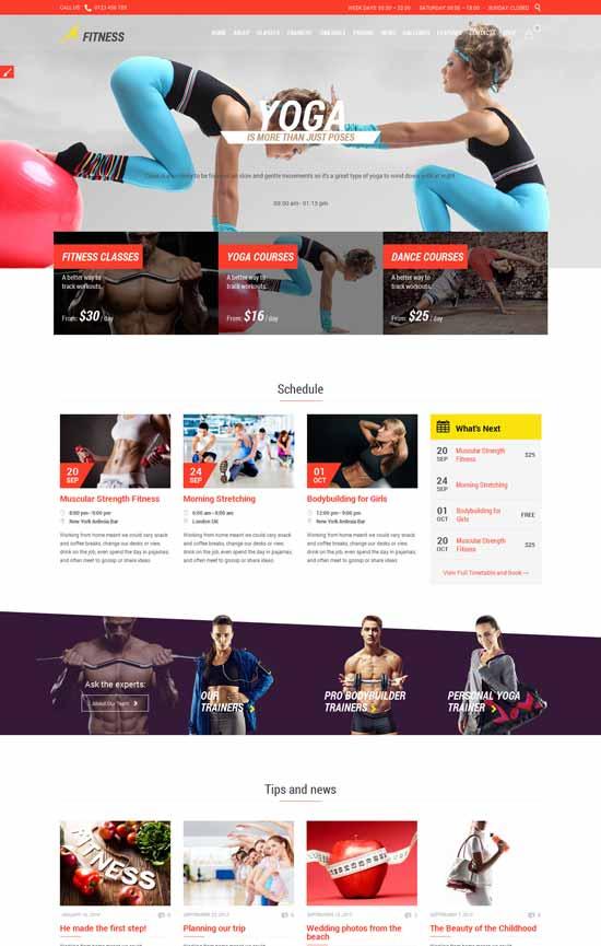 Fitness-Sport-Gym-Responsive-Theme