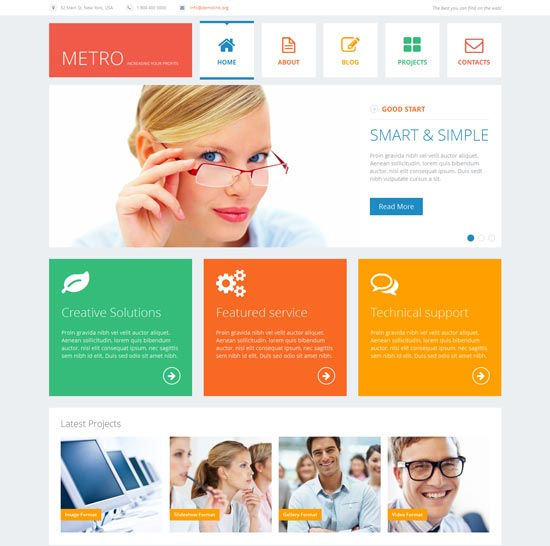Flat-Consulting-WordPress-Theme