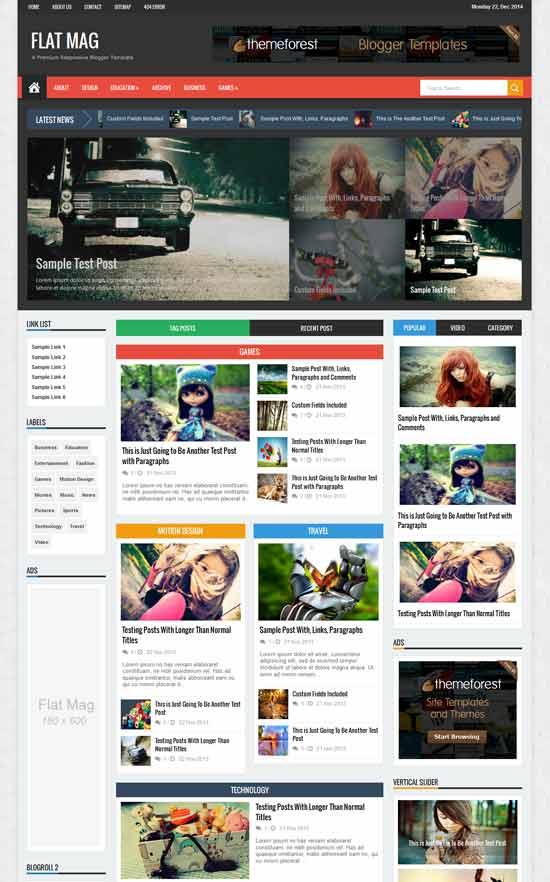 Flat-Mag-Responsive-Magazine-Blogger-Template