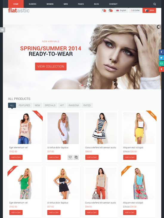 Flatastic-Ecommerce-Fashion-HTML-Template
