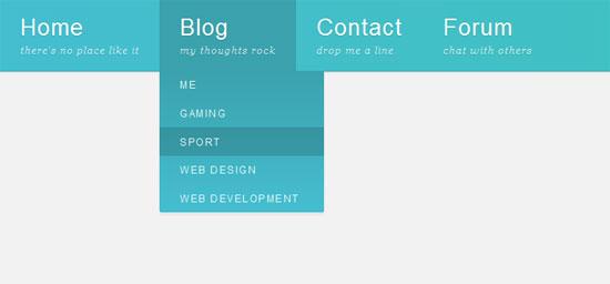 Flexbox-dropdown-navigation-menu