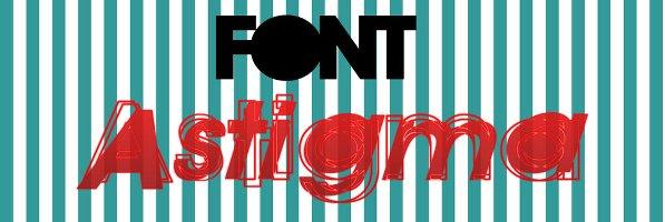 Font Astigma cool free fonts