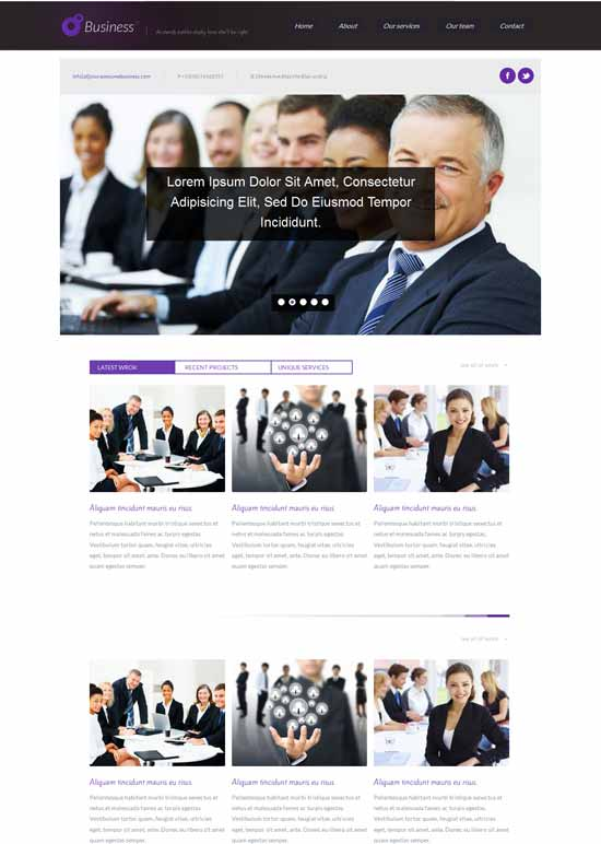 Free-Business-Consulting-Responsive-web-template