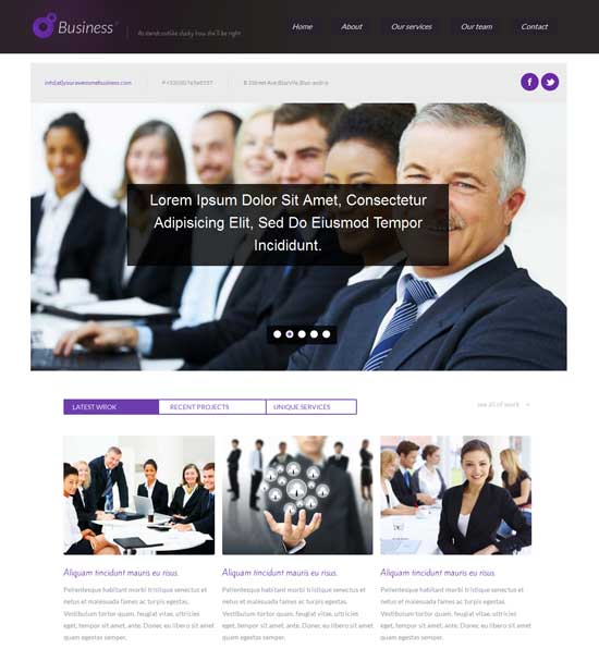Free-Business-Corporate-Responsive-website-template