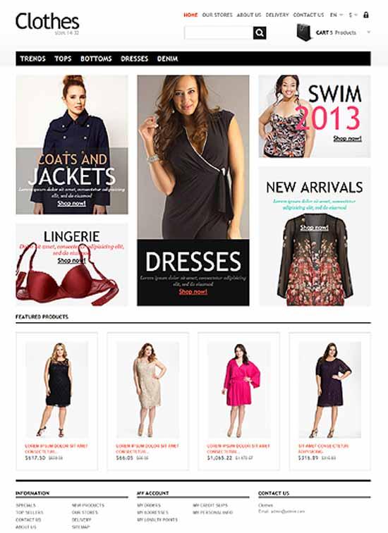 Free-Clothes-Fashion-Bootstrap-Prestashop-Theme