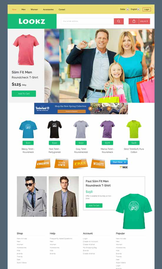 Free-Ecommerce-Responsive-Template