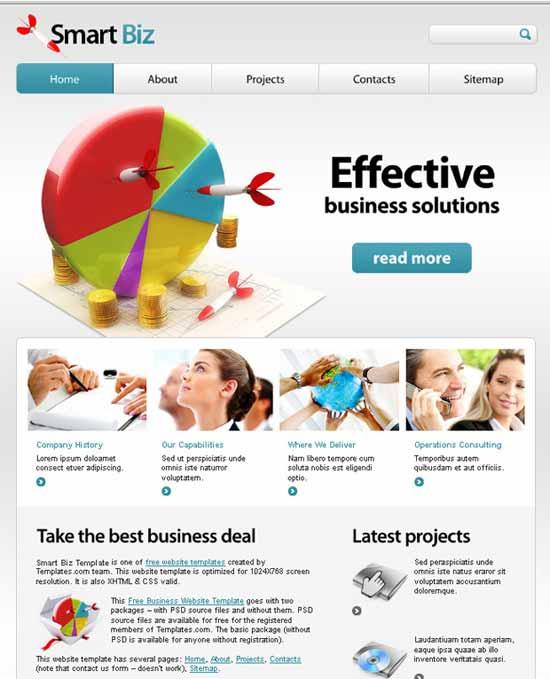 Free-Financial-HTML5-Website-Template