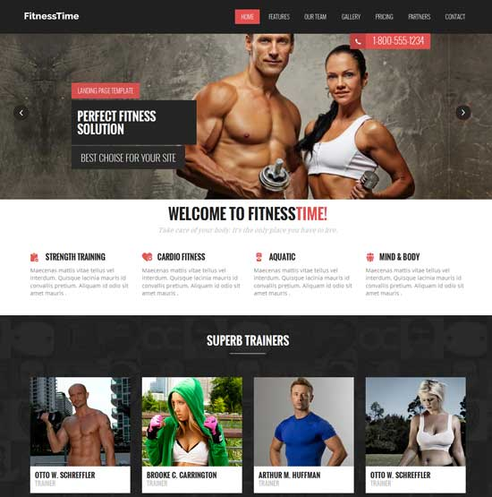 Free-Fitness-Flat-Bootstrap-Responsive-Template