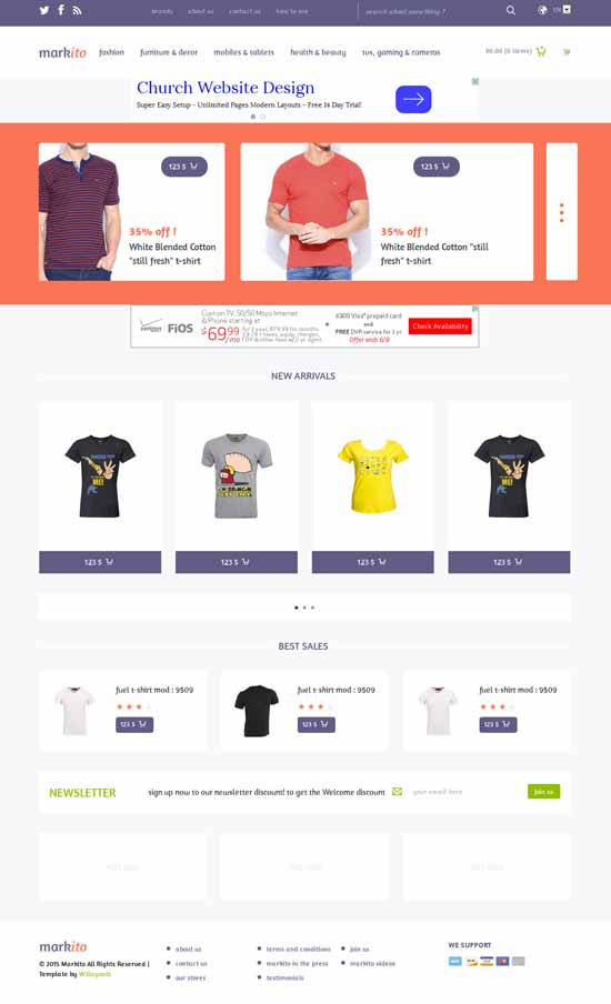 Free-Flat-Ecommerce-Bootstrap-Template