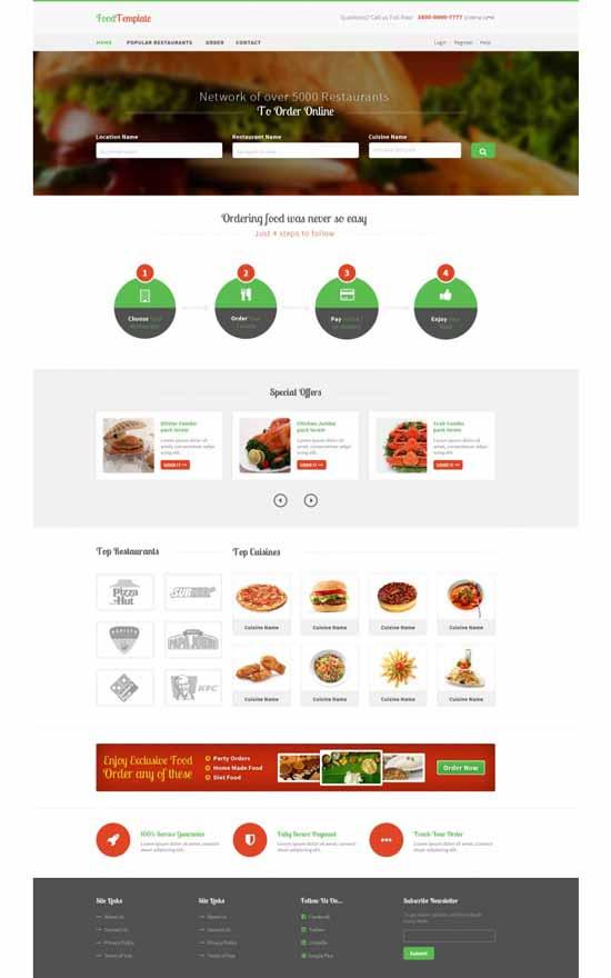 Free-Foods-PSD-Website-Templates