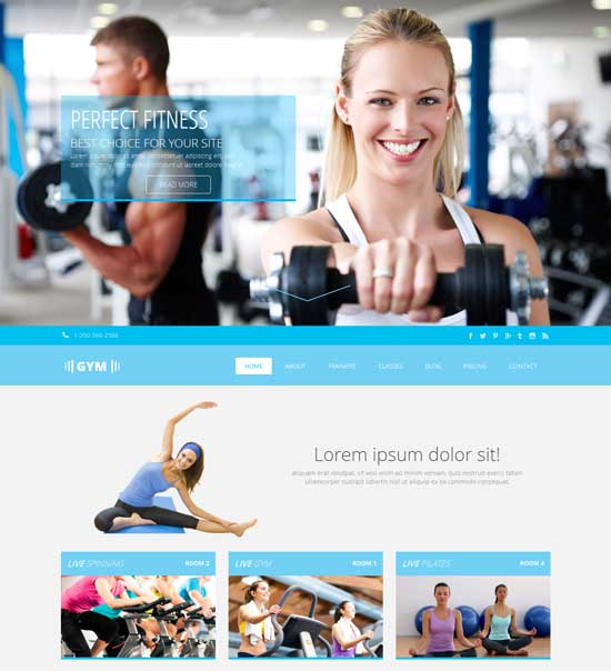 Free-Gym-Flat-Bootstrap-Responsive-Template