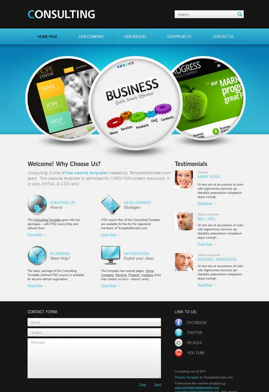 Free-HTML5-Consulting-Business-Website-Template