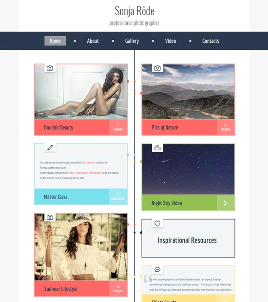 Free-HTML5-Photography-Template