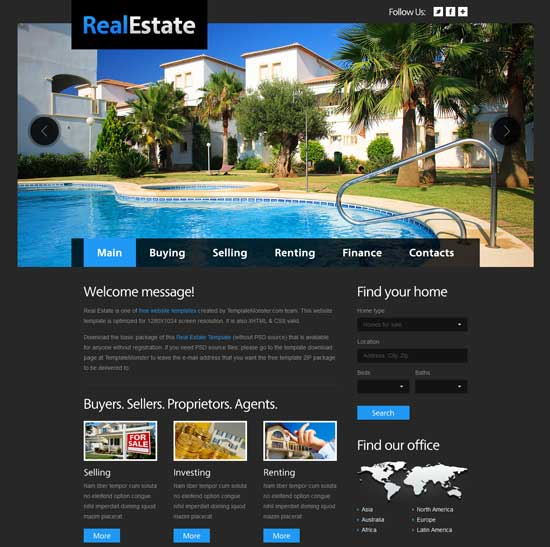 Free-HTML5-Real-Estate-Website-Template
