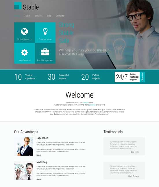 Consulting Firm Responsive HTML5 Template