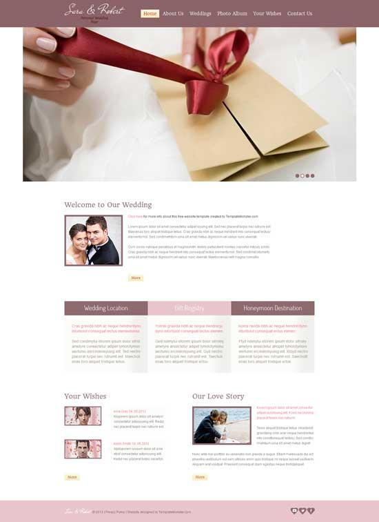 Free-HTML5-Wedding-Website-Template