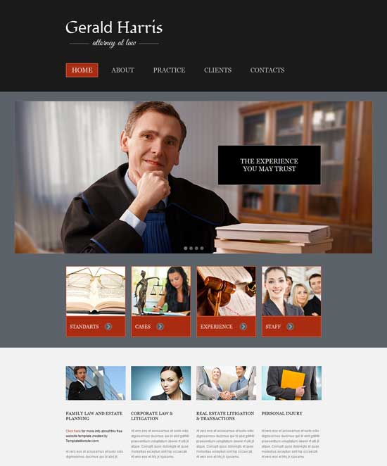 Free-Law-Legal-Website-Template