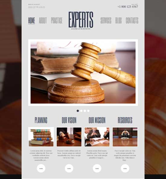 Free-Law-WordPress-Theme