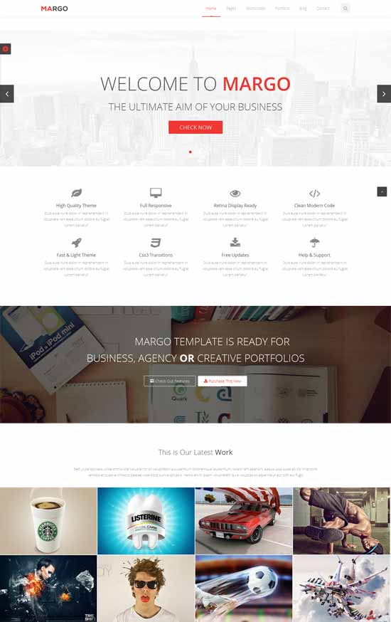 Free-Multi-Purpose-Bootstrap-Template-Margo