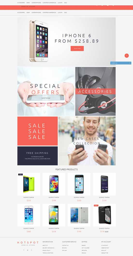 Free-OpenCart-Theme-for-Mobile-Shop