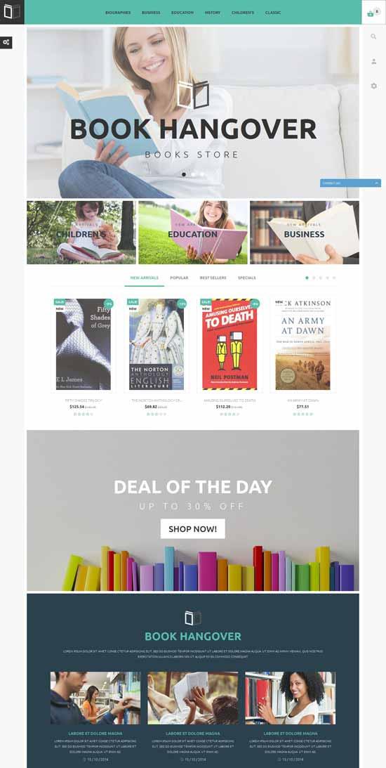 Free-PrestaShop-Theme-for-Book-Store