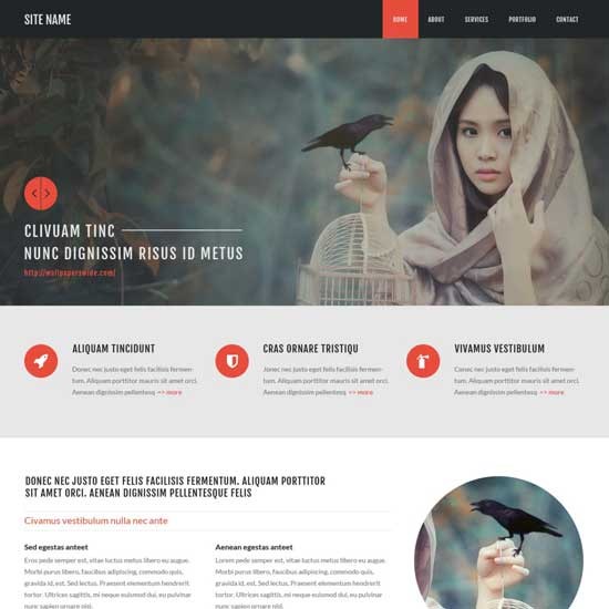 Free-Psd-Bootstrap-Template