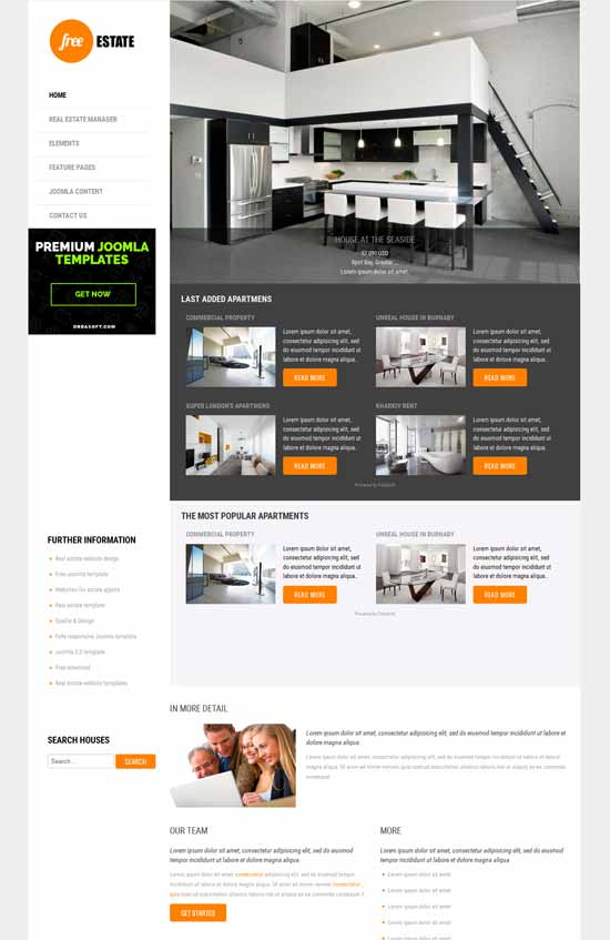 Free-Real-Estate-Joomla-3.x-Template