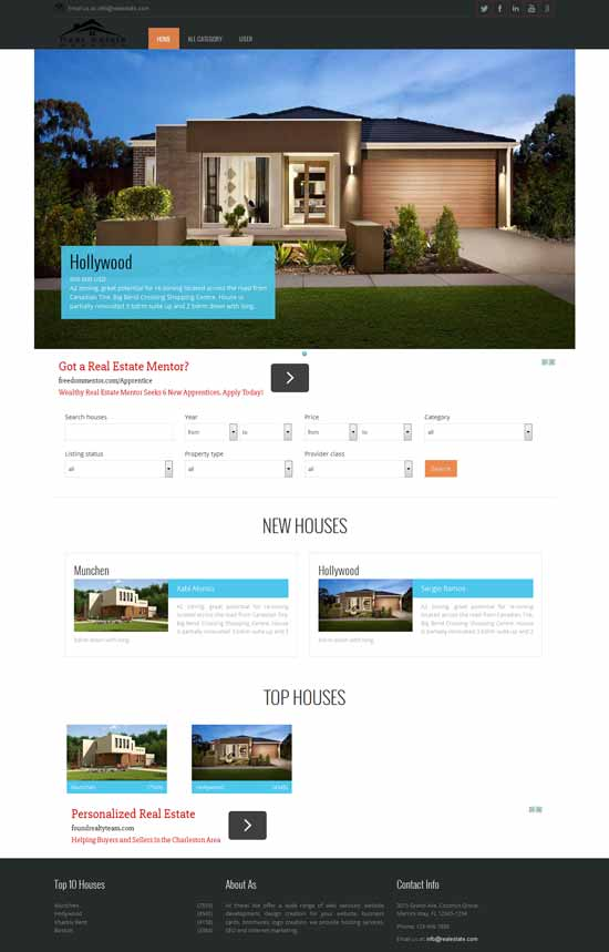 Free-Real-Estate-Joomla-Template