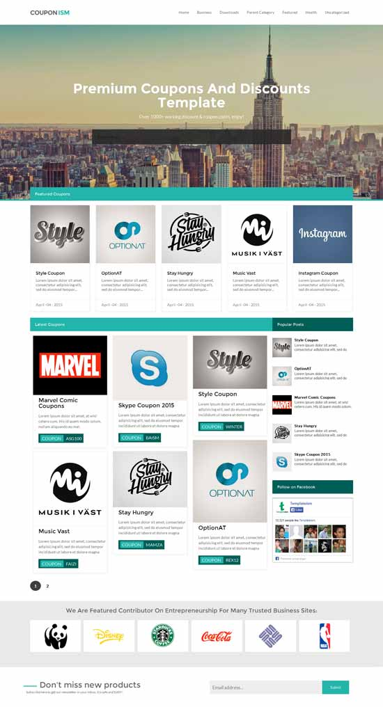 Free-Responsive-Blogger-Template-Couponism