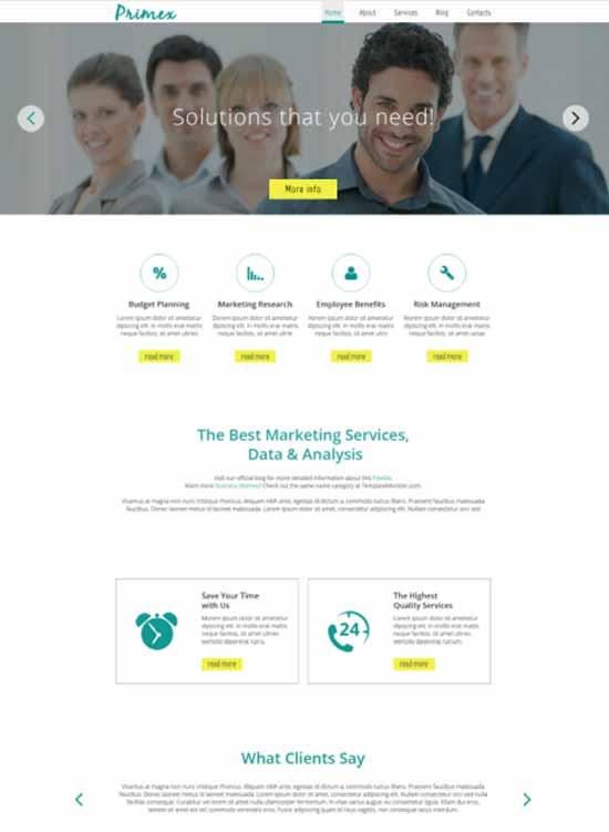 Marketing Agency Responsive HTML5 Template