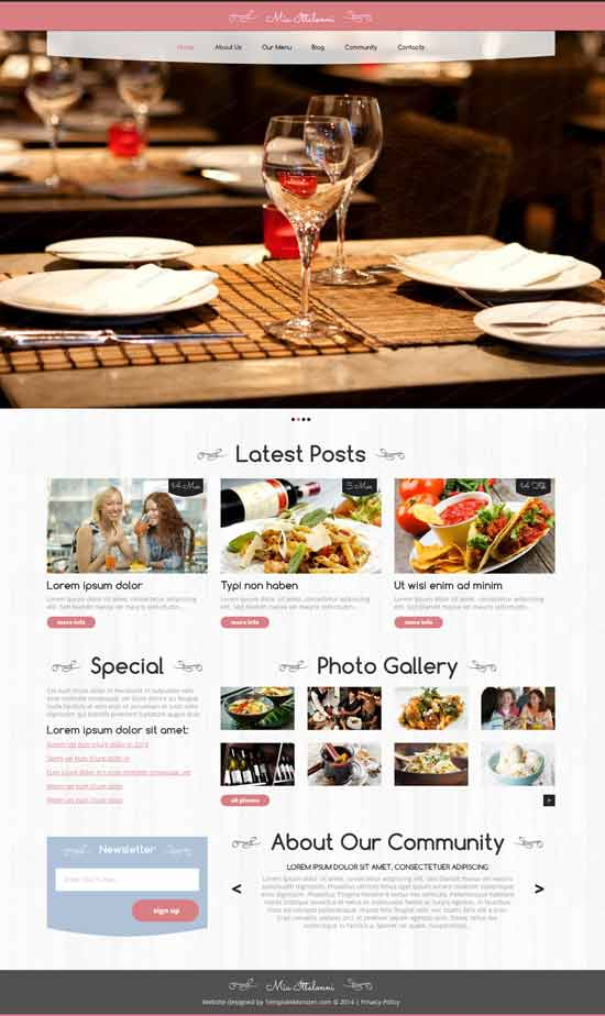 Free-WordPress-Restaurant-Theme-Cozy
