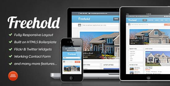 Freehold Estate - Responsive Template