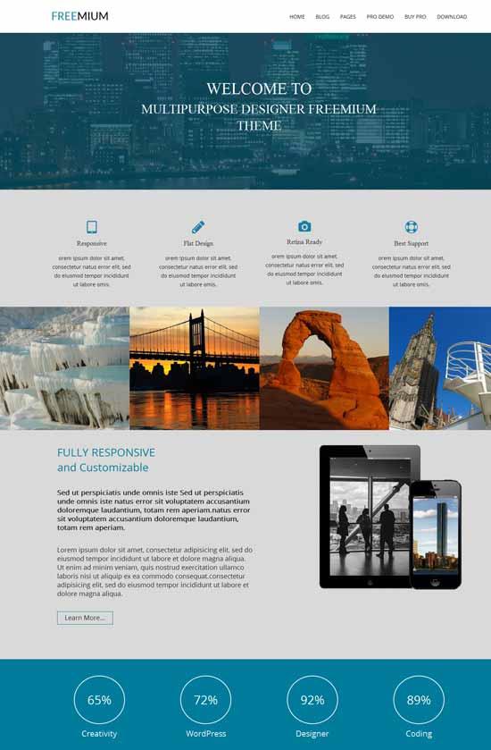 Freemium-Free-Bootstrap-WordPress-Theme