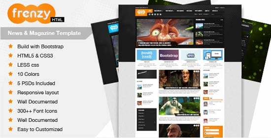 Frenzy-Responsive-Bootstrap
